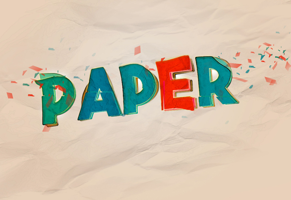 Create Colourful Distorted Text Effect in Photoshop