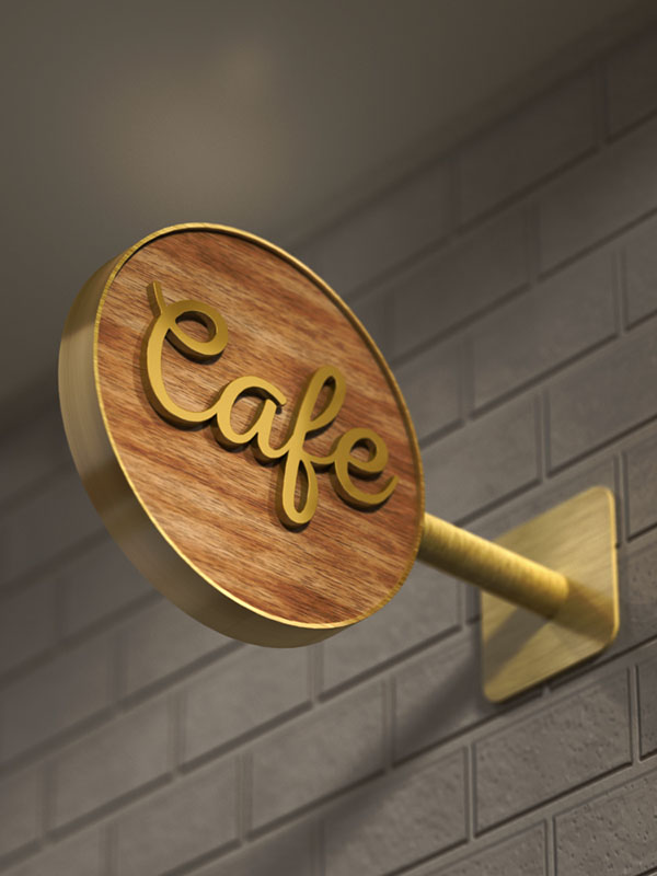Create a 3D Cafe Sign Using Adobe Photoshop and Filter Forge