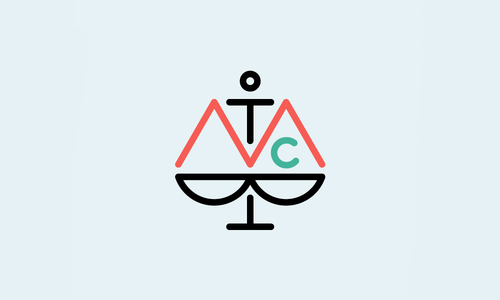The Moral Compass Logo by Nice and Serious