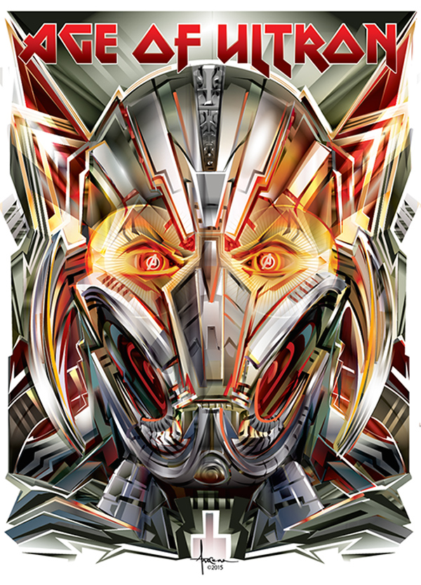 AGE of ULTRON by Orlando Arocena