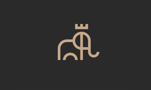 King Elephant Logo by Paul Saksin