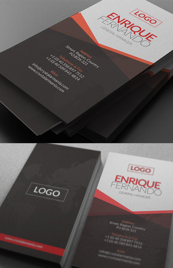 25 new elegant business card psd templates design graphic design global business card reheart Images