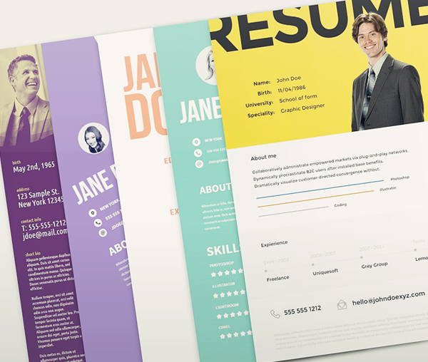 Free cv resume psd templates freebies graphic design junction free resume template pack yelopaper Image collections