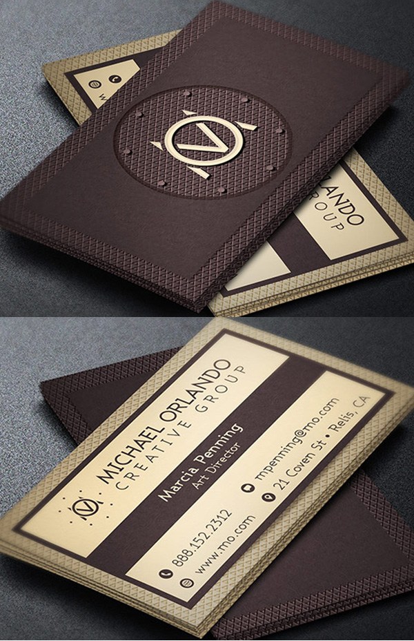25 New Elegant Business Card Psd Templates Design Graphic Design