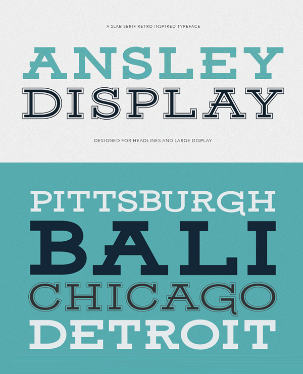 50 Best Free Fonts Of 2015 - 36