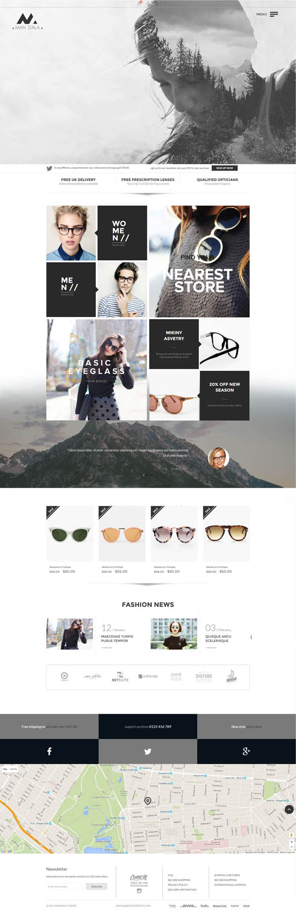 New HTML5 Website Templates (PSD & HTML) | Design | Graphic Design ...