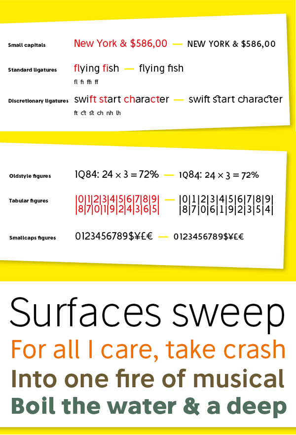 Stilu Font Letters and Numbers