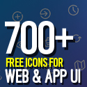 Post Thumbnail of 700+ Free Icons for Web, iOS and Android UI Design
