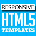 Post Thumbnail of 15 New HTML5 Website Templates (PSD & HTML)