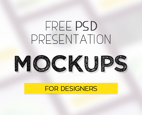 New Free PSD Mockup Templates for Designers (23 MockUps)