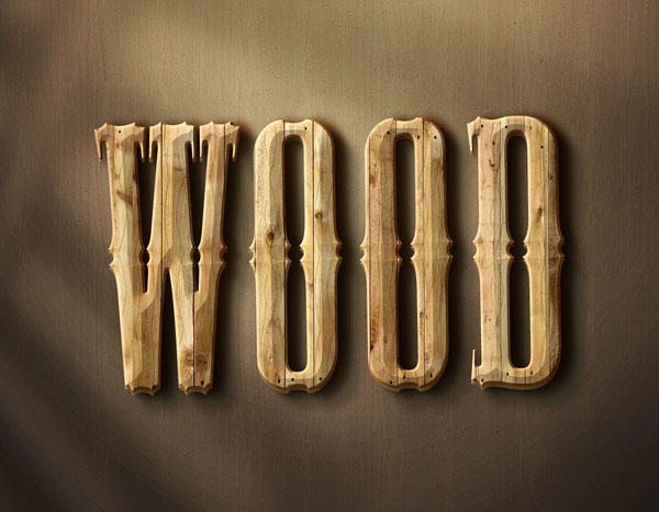 Wood – Free Text Style