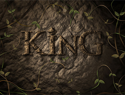 Create an Advanced Stone Text Effect in Photoshop