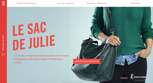30 New Examples of Responsive Websites with Big Background - 17
