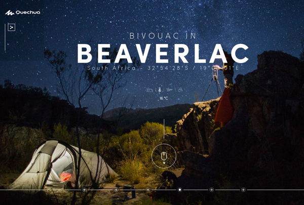 30 New Examples of Responsive Websites with Big Background - 18