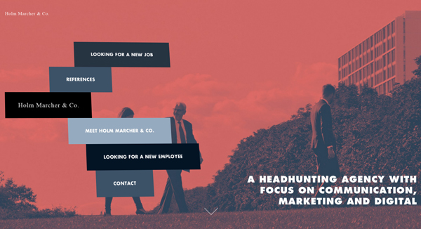30 New Examples of Responsive Websites with Big Background - 5