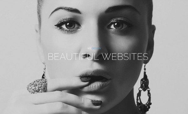 30 New Examples of Responsive Websites with Big Background - 8