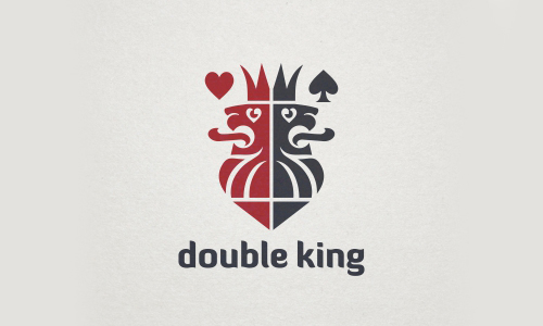 Double King Logo by Veronika Žuvi?
