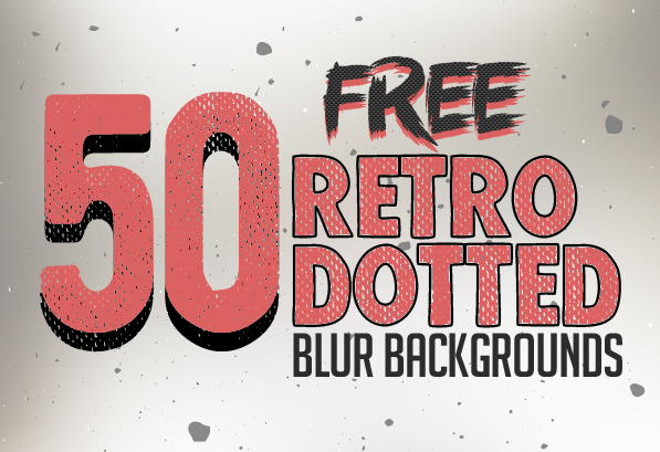 Free 50 Retro Dotted Blurred Backgrounds