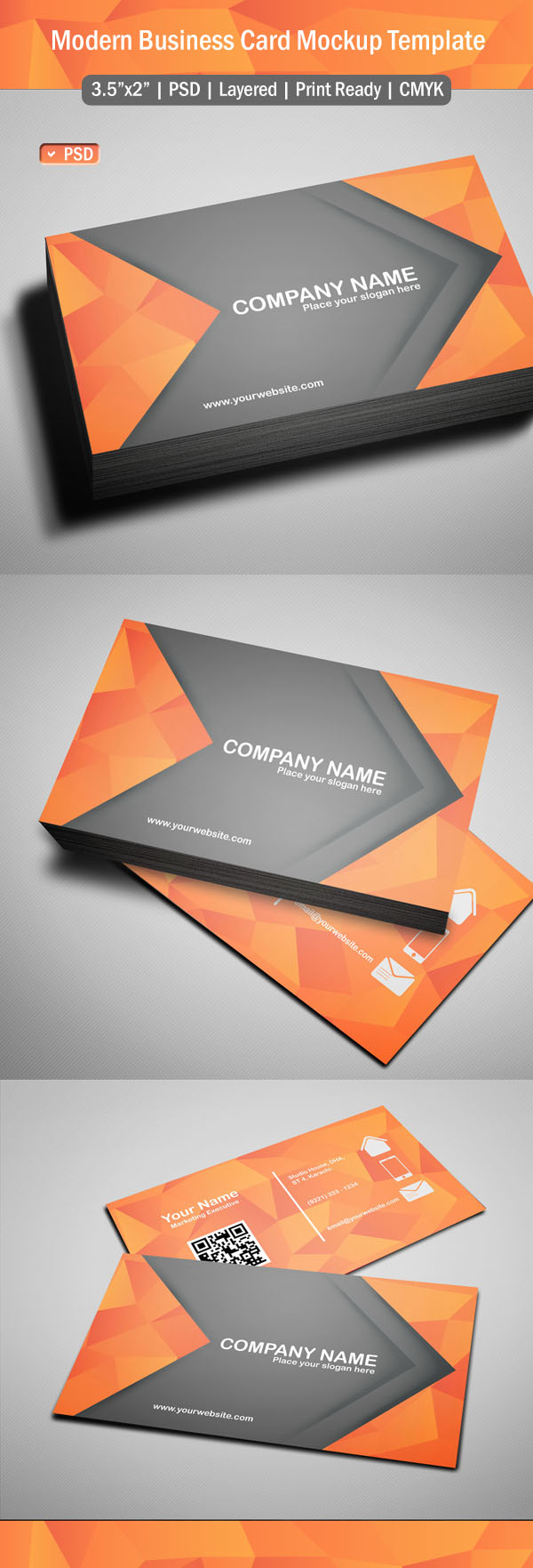 Free psd files download 25 ui design photoshop psd resources free modern business card template psd reheart Image collections