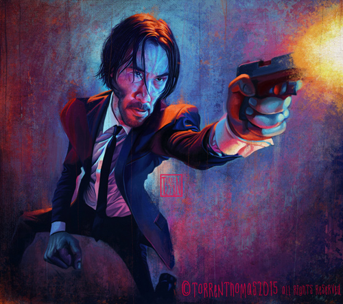 John Wick by Torren Thomas