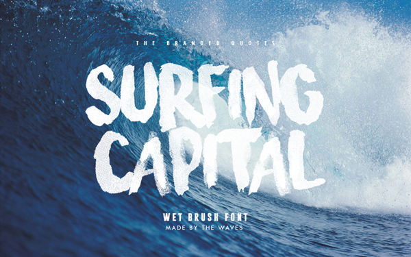 Surfing capital perfect fonts
