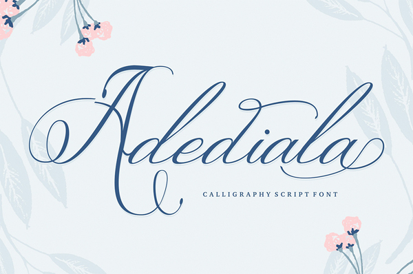 Adediala is a truly beautiful font