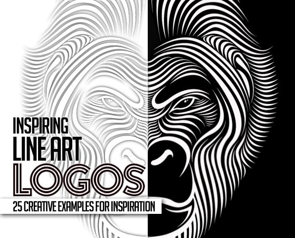 Line Art Used in Logo Design – 25 Great Concepts and Ideas | Logos ...