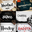 Post thumbnail of 25 Premium Fonts & Graphics for Designers