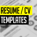 Post thumbnail of 15 Free Elegant Modern CV / Resume Templates (PSD)
