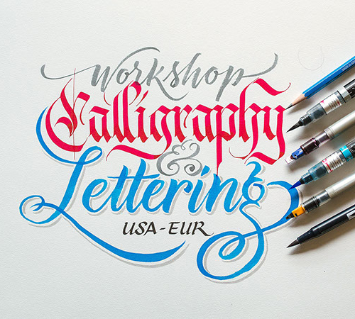 Calligraphy & Lettering Workshop by Jackson Alves