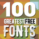 Post thumbnail of 100 Greatest Free Fonts for 2016