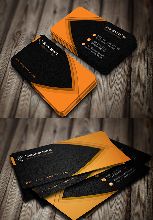 Creative Personal Business Card Design