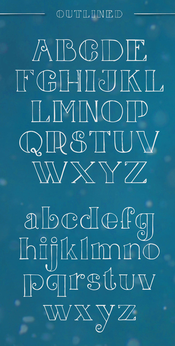 Jingle Font Letters
