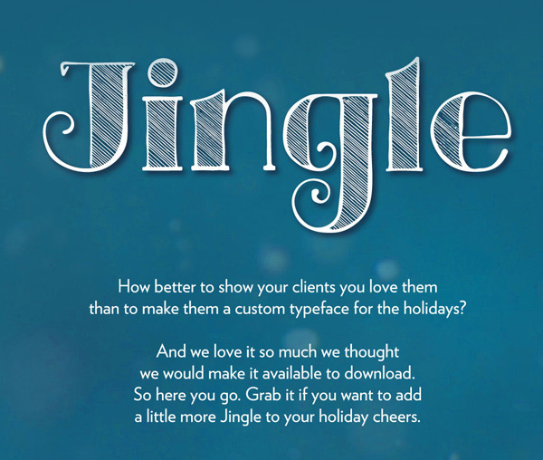 Jingle Free Font