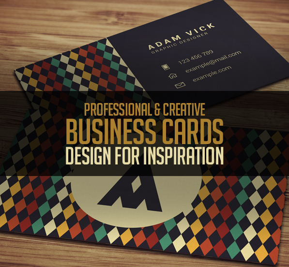 26 New Professional Business Card PSD Templates