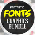 Post Thumbnail of Fantastic Fonts and Awesome Graphics December Bundle