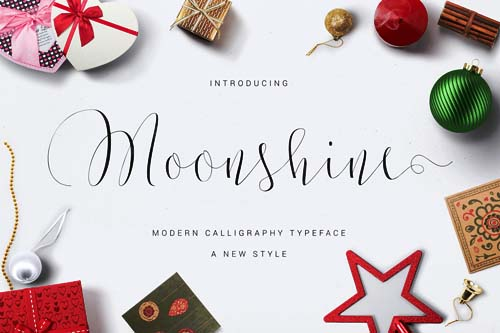 Moonshine One of the best fonts