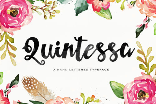 Quintessa is a wonderfully fun and original font
