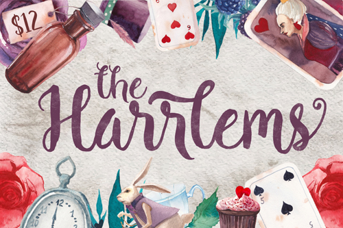 Harrlems! A gorgeous, hand-drawn font