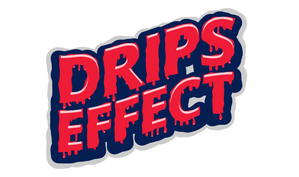 How to Create Dripping Effect for Editable Text with Stipplism in Adobe Illustrator