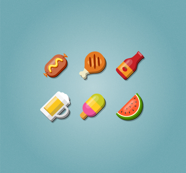 How to Create a Set of Food Icons in Adobe Illustrator