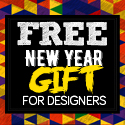 Post thumbnail of Free New Year 2016 Gift Pack For Designers