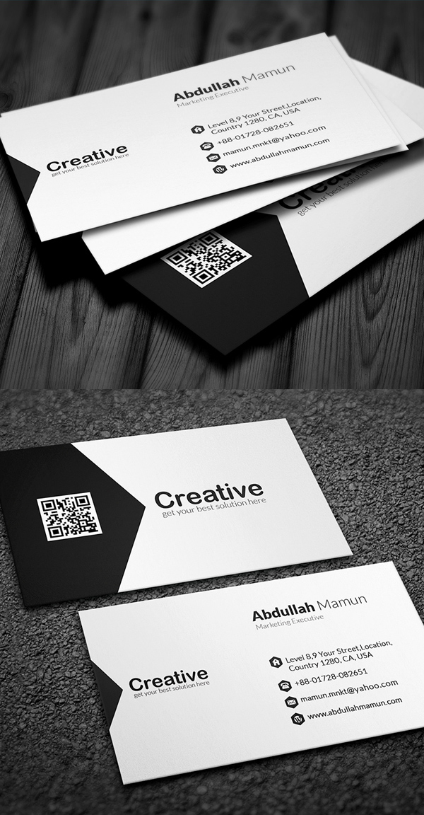 Modern Business Cards Design: 26 Creative Examples | Design ...