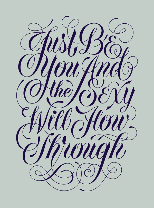 28 Remarkable Lettering & Typography Designs for Inspiration - 21