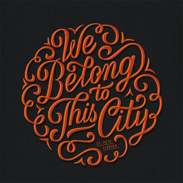 28 Remarkable Lettering & Typography Designs for Inspiration - 23