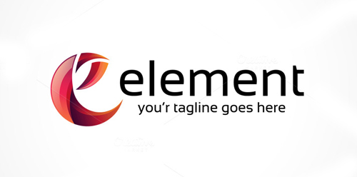 Element / Letter E Logo Template