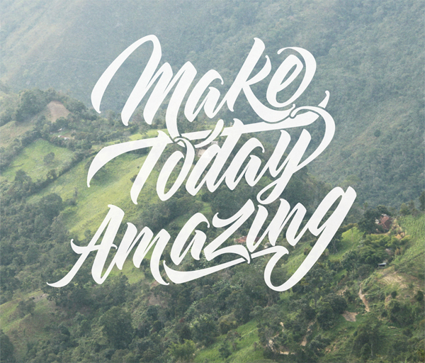 28 Remarkable Lettering & Typography Designs for Inspiration - 27