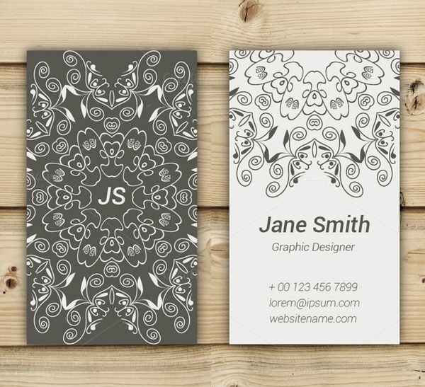 Beautiful Art Business Card Design