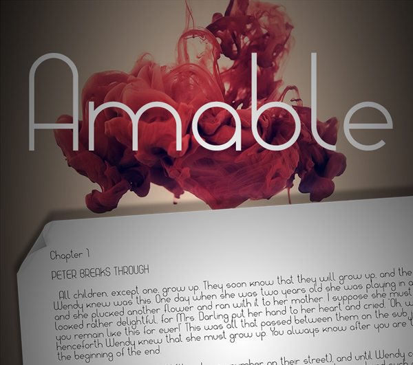 Amable Free Font
