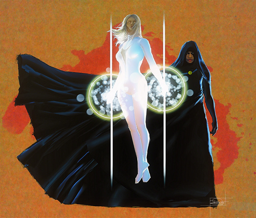 Cloak and Dagger Illustration by Daniel Murray